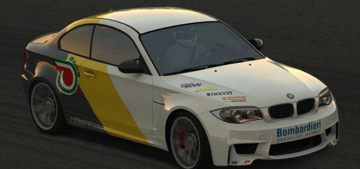BMW M1 - sponsor Bombardieri