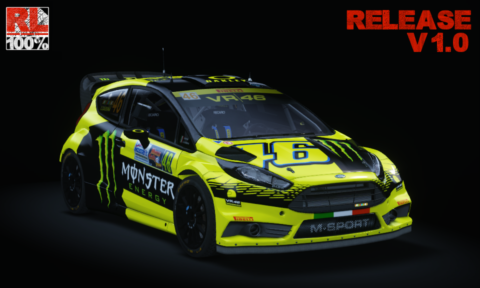 Ford Fiesta RS WRC per Assetto corsa | | RACE4FUN